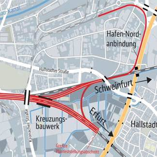 BIM pilot intersection project, Bamberg
