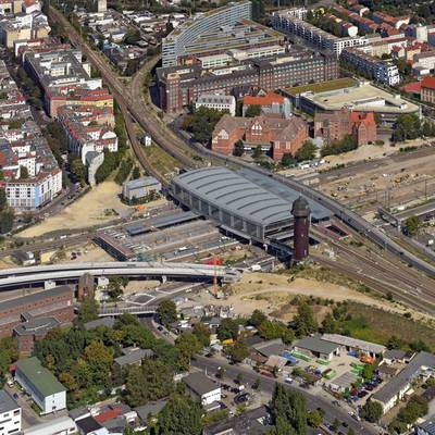Reconstruction of Ostkreuz station, Berlin